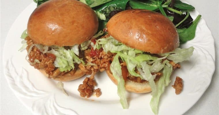 Asian Sloppy Joe Sliders, a recipe from Chef Ming Tsai