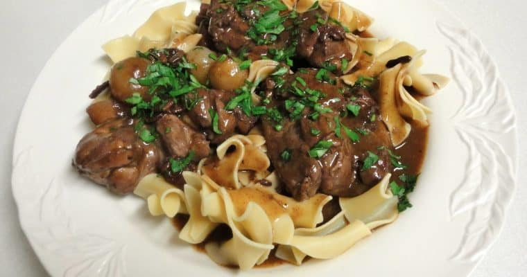 90 Minute Coq au Vin from Cook's Illustrated