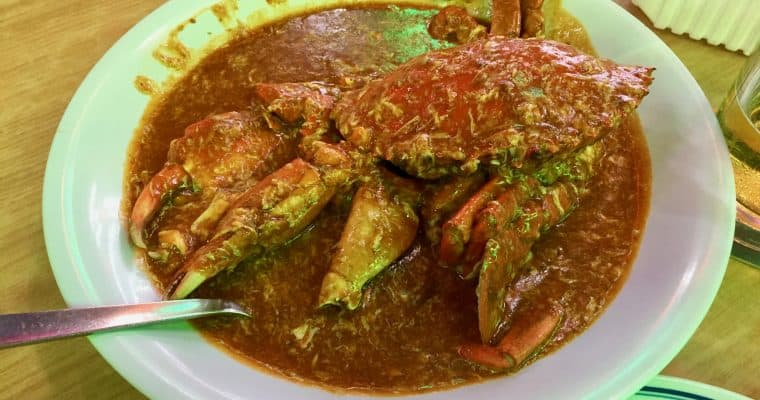 Singapore's Signature Chili Crab may be easier to make Stateside than it is in Singapore.