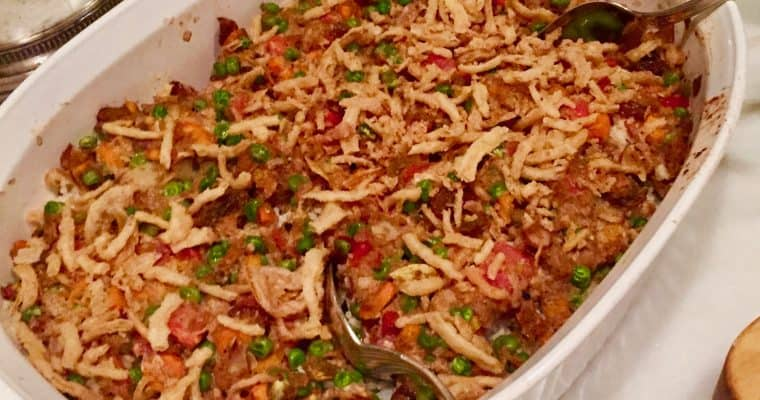 Dinner Party Dishes:  Vegetable Biryani