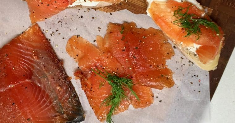 "Juniper-Cured Gravlax from Trine Hahnemann's ""Scandinavian Comfort Food"""