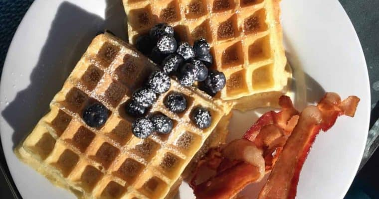 A new flour brings great taste back to Gluten-free baking and our Buttermilk Waffles proved it.