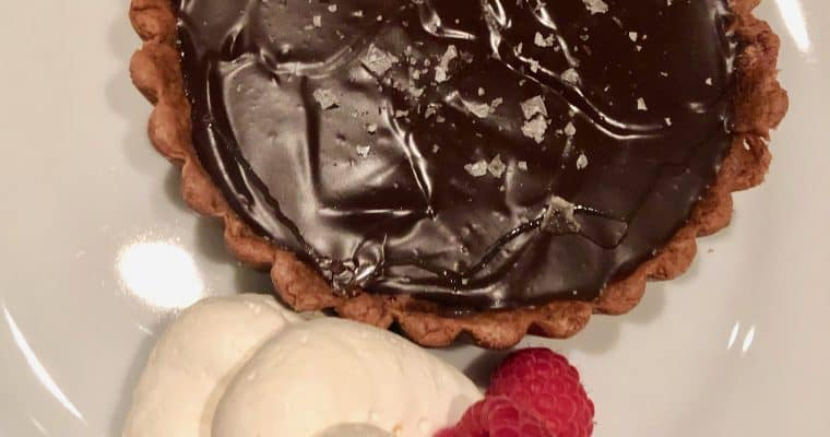 Claudia Fleming's Chocolate Caramel Tart