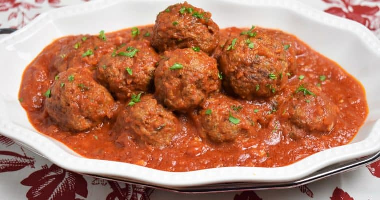Meatballs Cuban Style