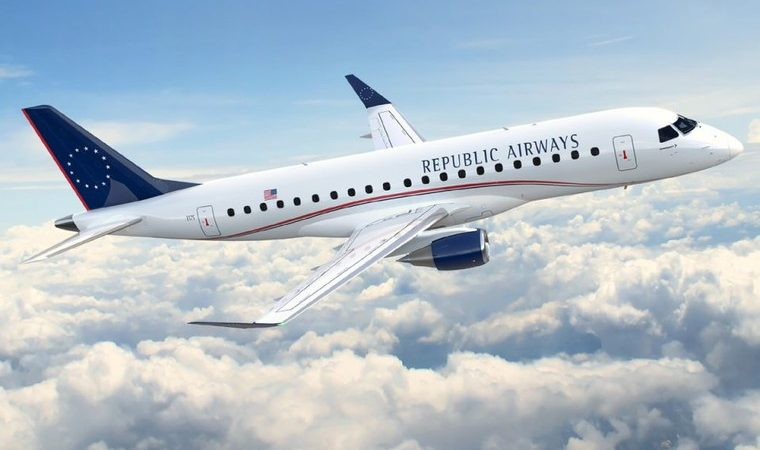 Embraer 170 авиакомпании Republic Airways