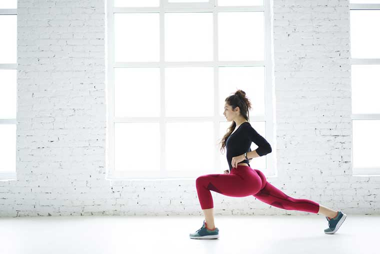 Forward Lunges Exercise To Reduce Thigh Fat