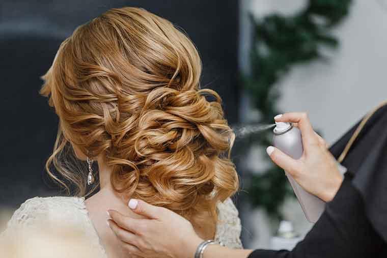 Hair Care Mistakes - Style First, Spray Next