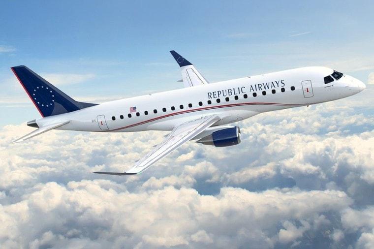 Embraer 170 авиакомпании Republic Airways