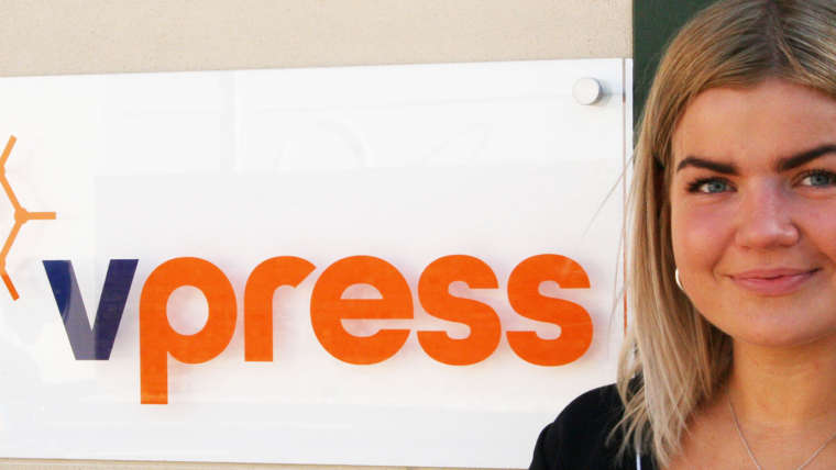 Vpress Team Member Wins Award