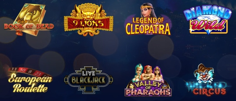 Vegasplus casino slot games