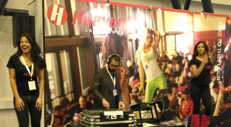 DJ Tom Hastings - Heavenly Ski & Snowboard Show - Earls Court - Storm DJs