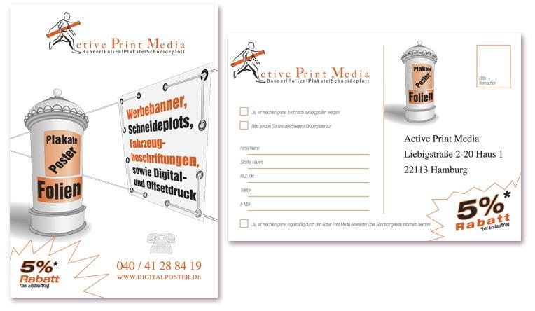 ActivePrintMedia-Postkarten
