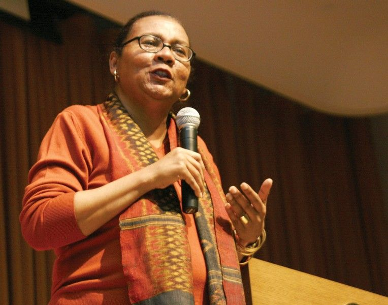 The picture of bell hooks was sourced from Wikimedia Commons and is believed to be in the public domain (Cmongirl): Bellhooks.jpg