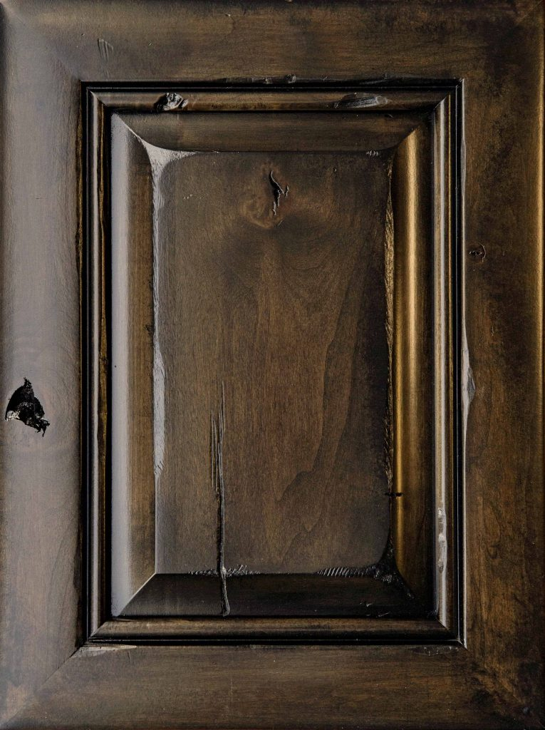 From simple wood doors to a handmade vintage distressing