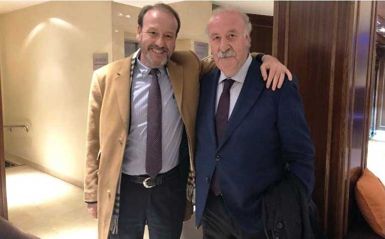 Jaime Navarro and Vicente del Bosque