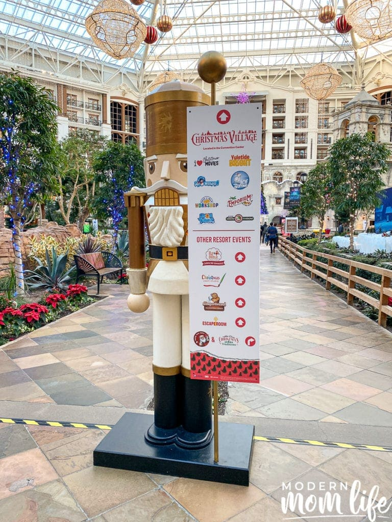 Gaylord Christmas Activities