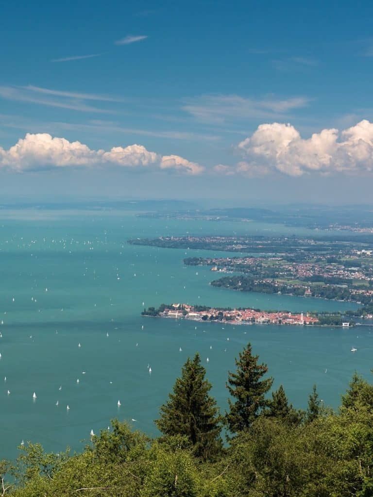 Urlaub am See, die größten Seen Deutschlands und der Welt