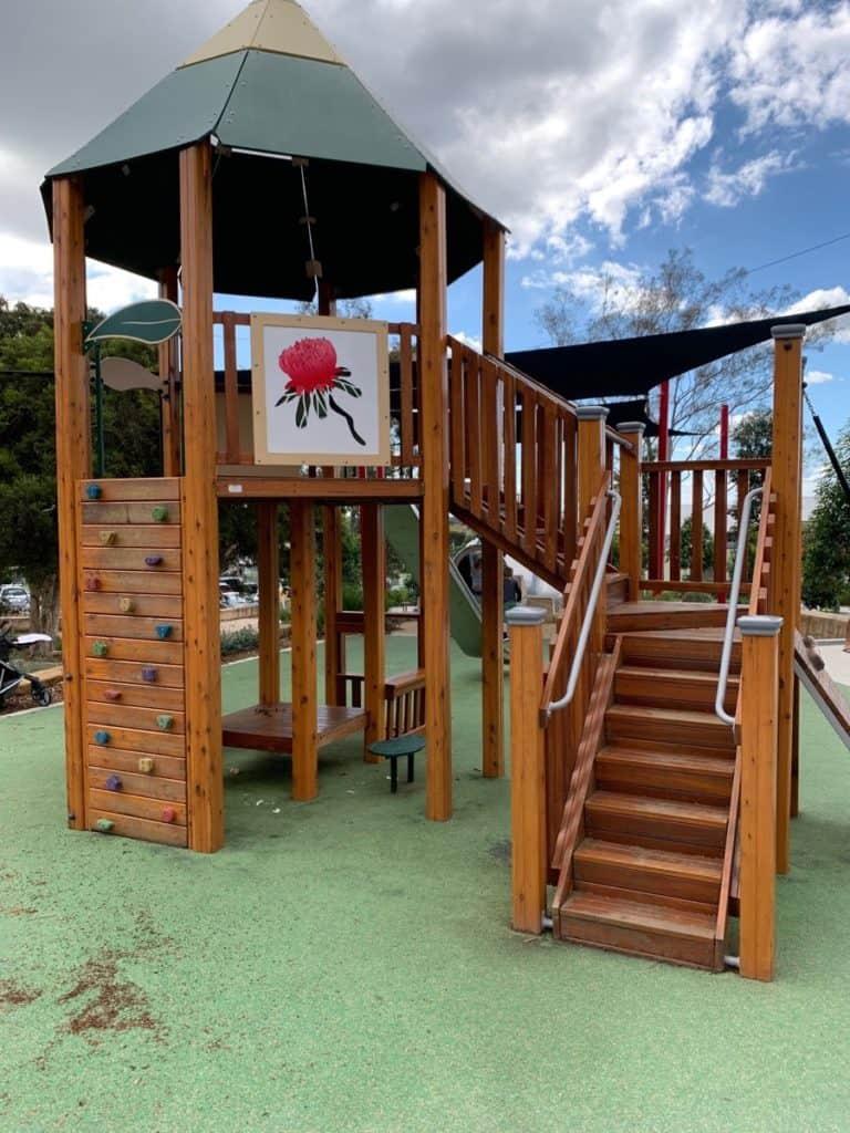Bridges Hill Playground Cessnock Play Structure