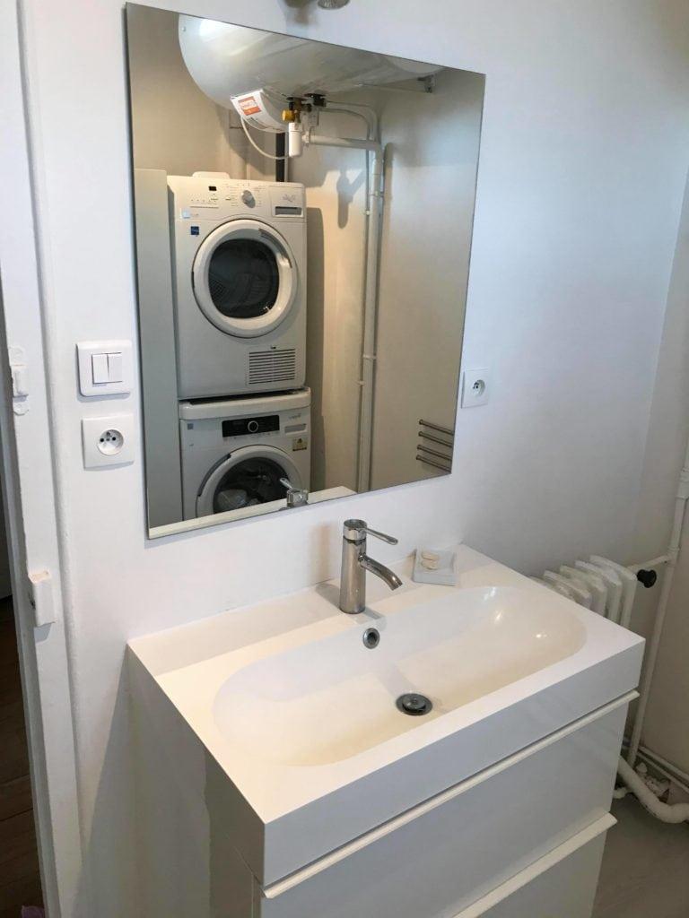 changement de meuble salle de bain