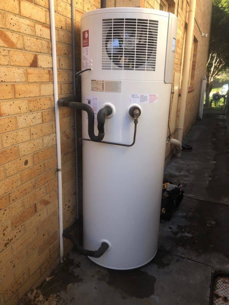 Stiebel Eltron WWK302H installed at Glenelg North