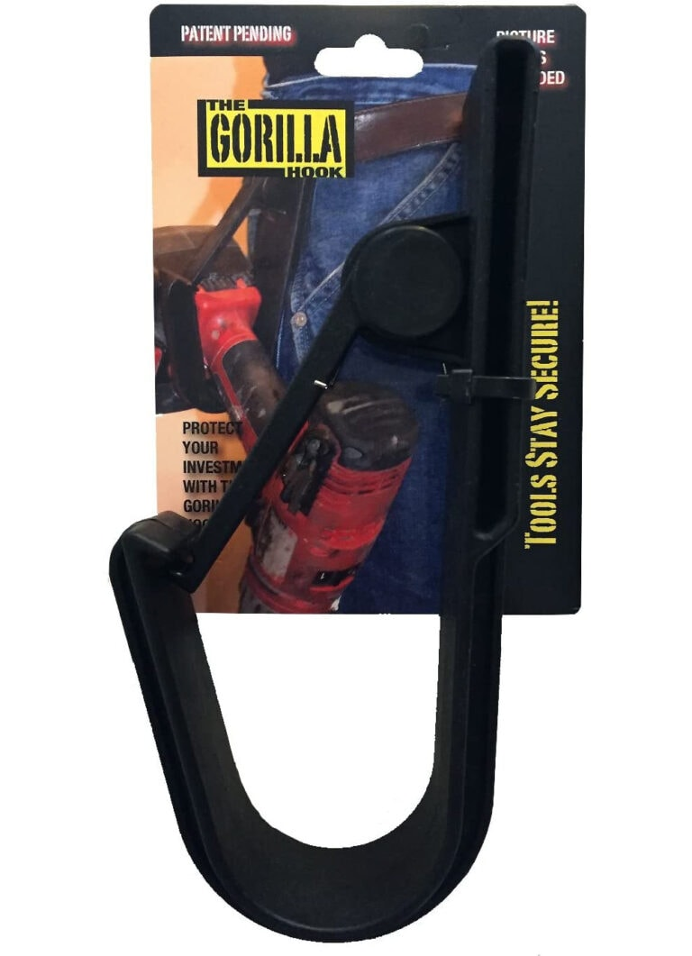 The Gorilla Hook  – Cordless Drill Tool Belt Holster