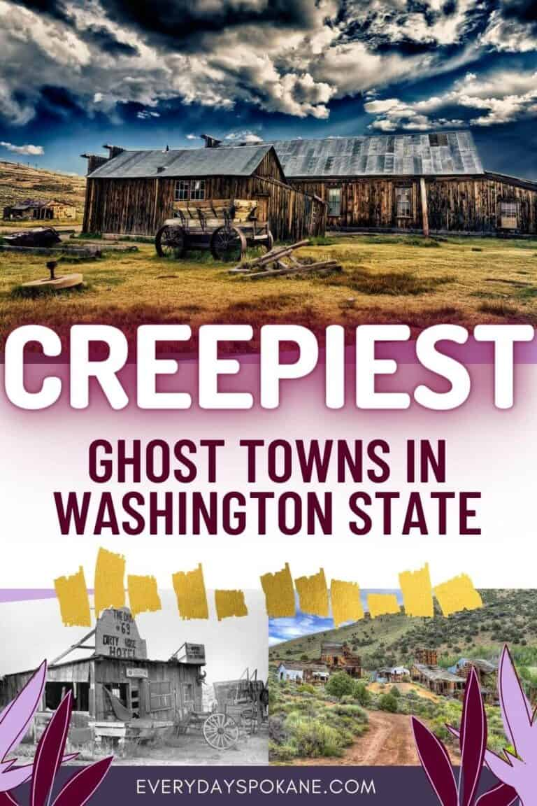 The Creepiest Ghost Towns in Washington State