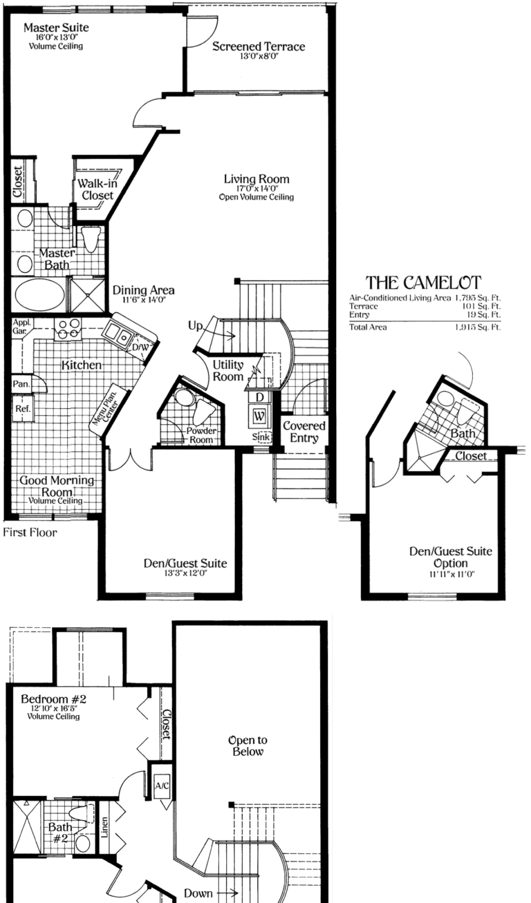 Avalon at Pelican Bay Floor Plans