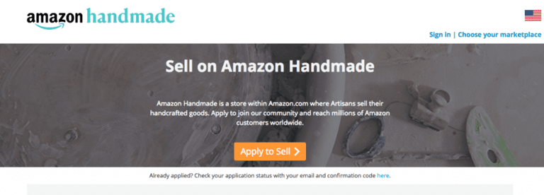 amazon handmade sign up