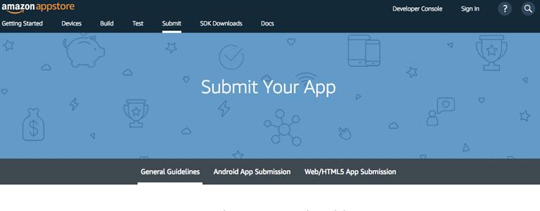 amazon app store developer