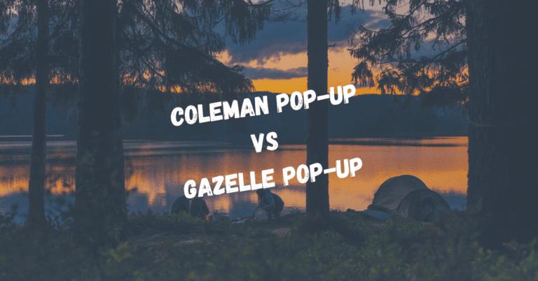 Coleman Popup vs T4