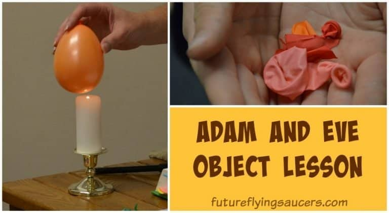 adam and eve object lesson