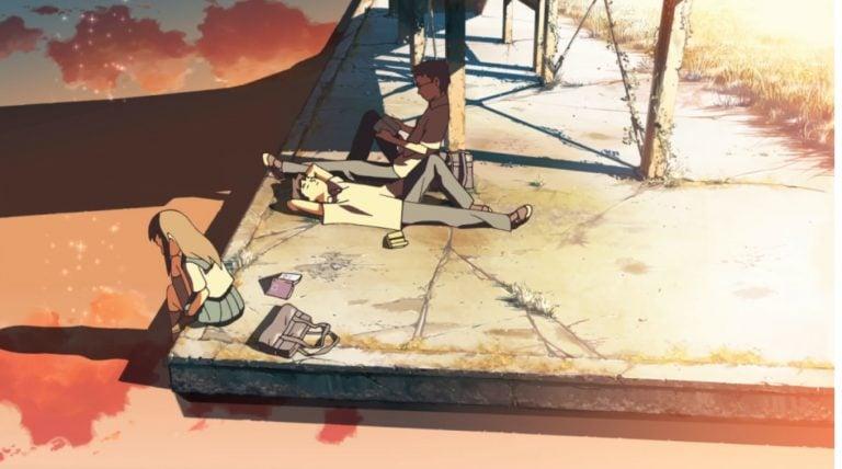 El lugar que nos prometimos: poesía de Makoto Shinkai