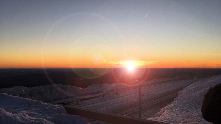 Google Tour Creator Sonnenaufgang Gegenlicht