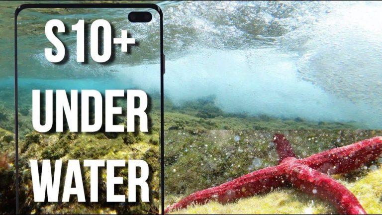 Samsung Galaxy S10 Underwater Video