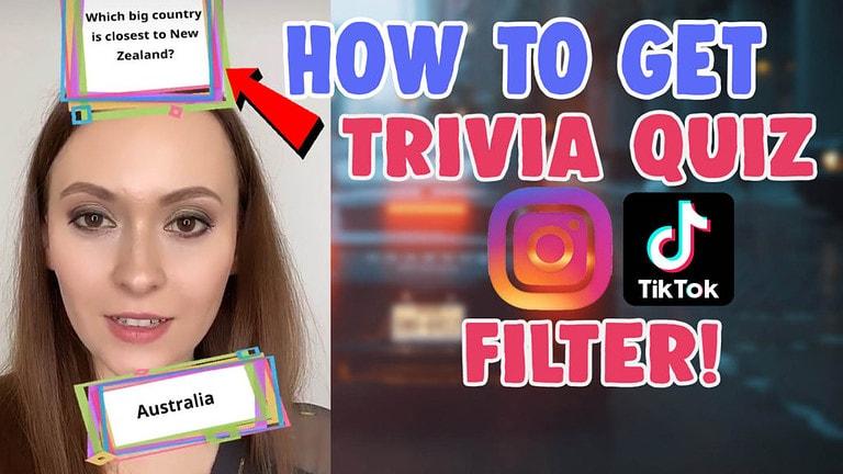 trivia instagram quiz filter and cockroach filter tiktok