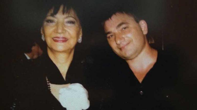 Нани Брегвадзе и Константин Тетруев в студии звукозаписи STUDIO MASTER