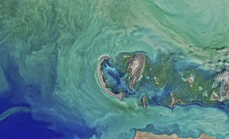 Die größten Seen der Welt - das Kaspische Meer