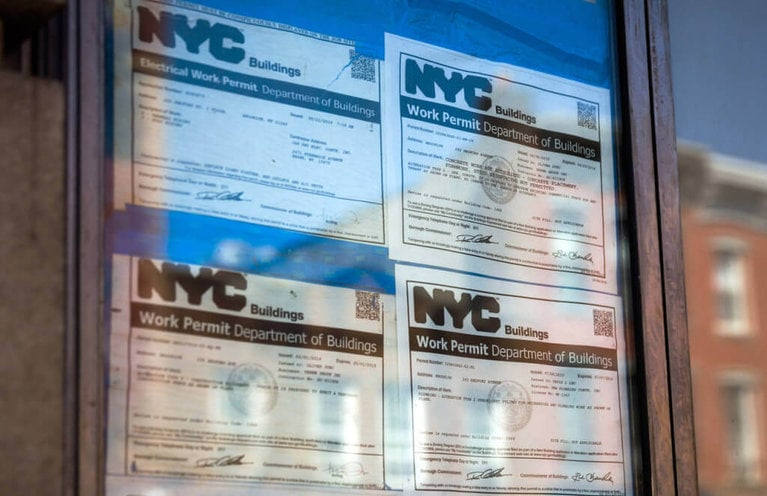 building permit nyc agency approvals, Richard Perry/The New York Times