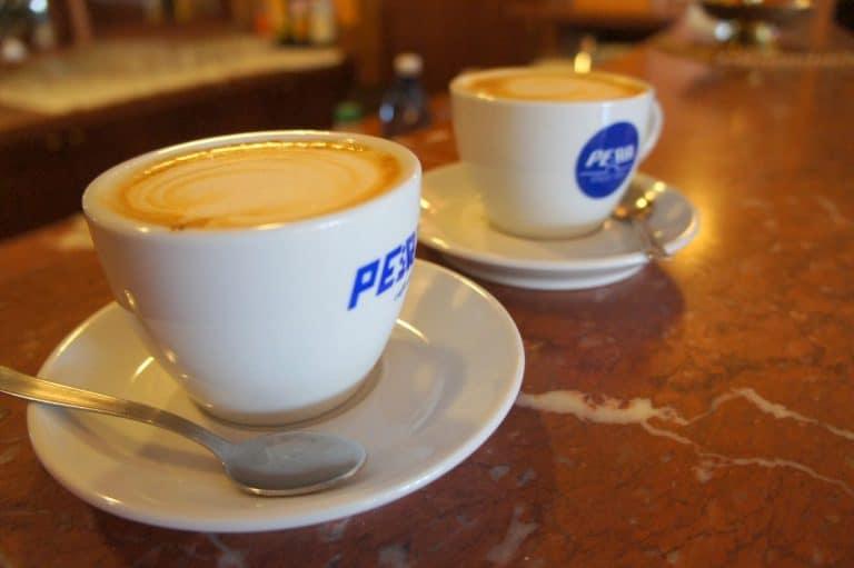 Café en San Giovanni Rotondo