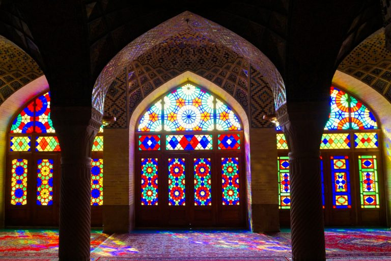 Nasir ol-molk - the Pink mosque, Shiraz, Iran