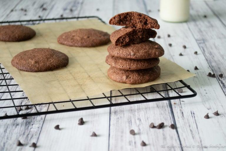 Biscotti al cioccolato senza glutine Bimby