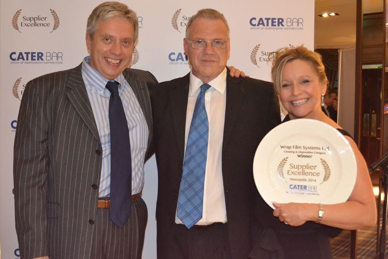 Kitchen Foil Holder - Wrap Film Systems win 'Supplier Excellence' at Caterbar Awards