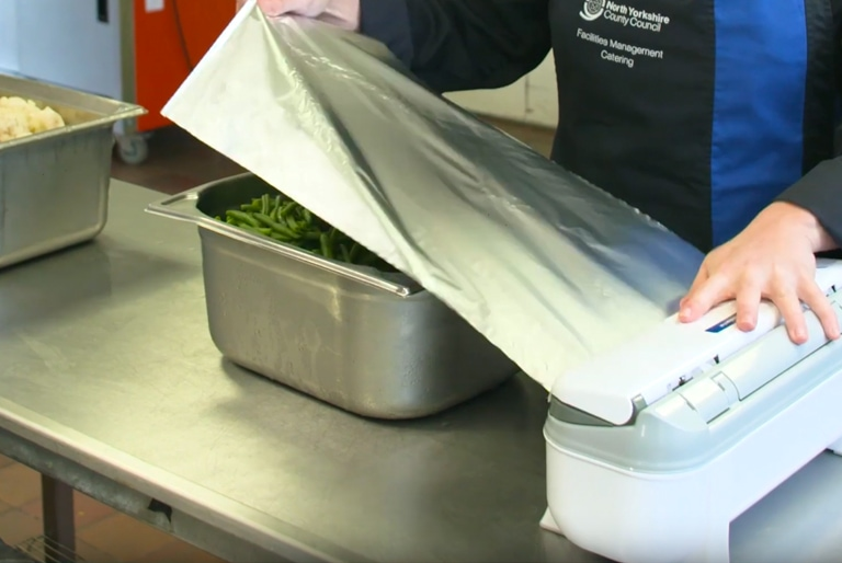 Food Wrap Dispenser