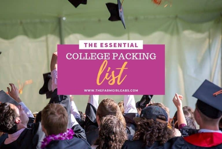The Essential College Packing List