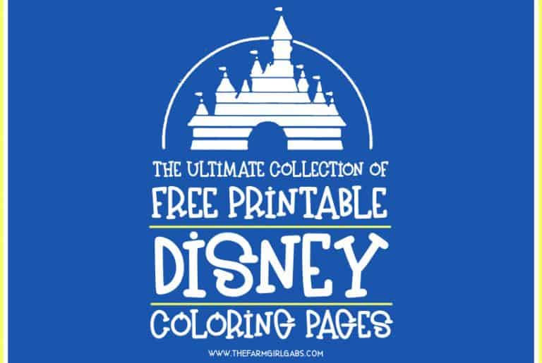 1000 Free Disney Coloring Pages For Kids