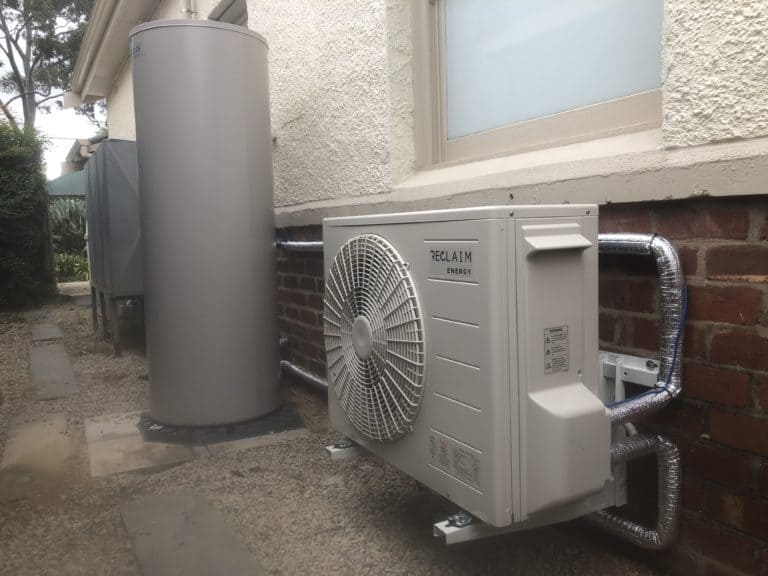 Reclaim Energy Heat Pump installed in Black Forrest