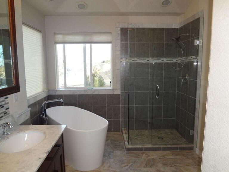 Denver Bath Remodel Modern Style