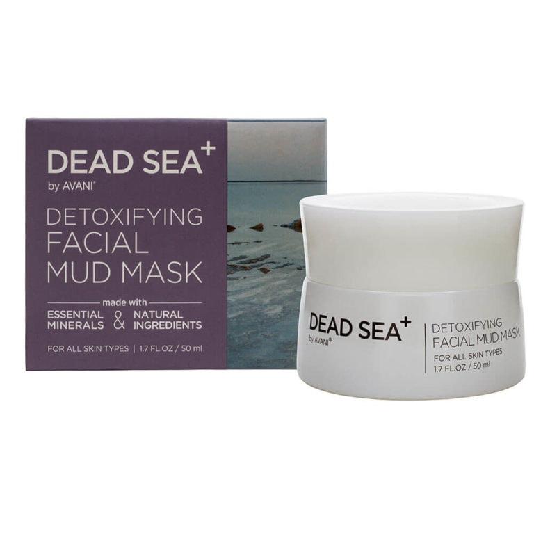 Detoxifying facial mud mask