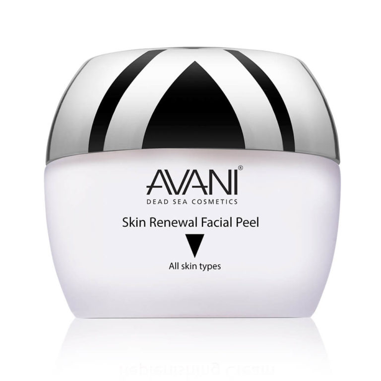 Skin renewal facial peel