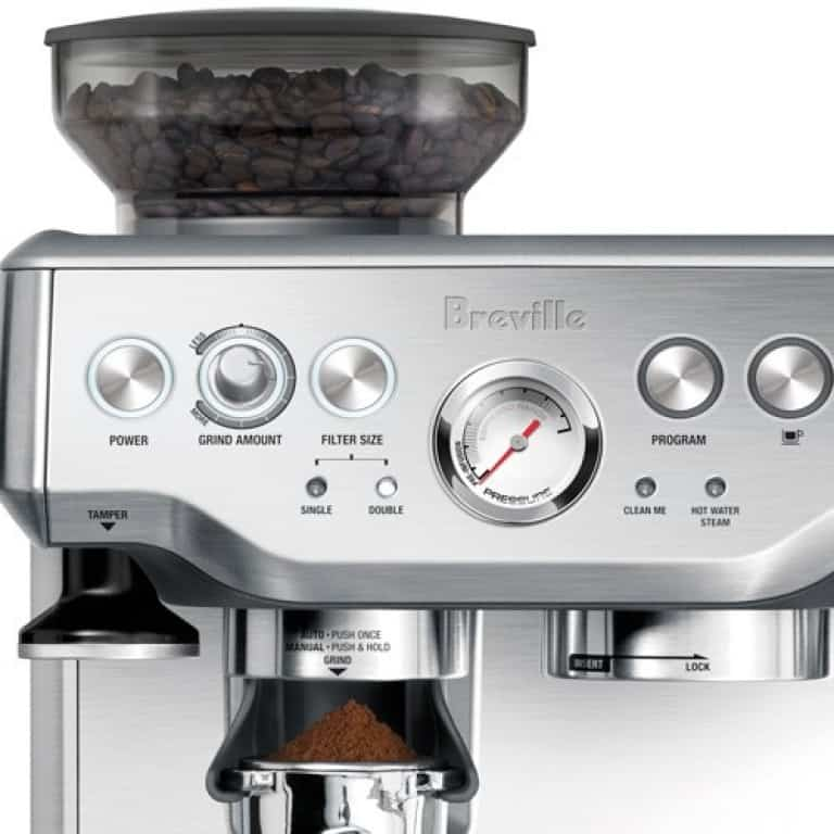 close up image of Barista Expresso